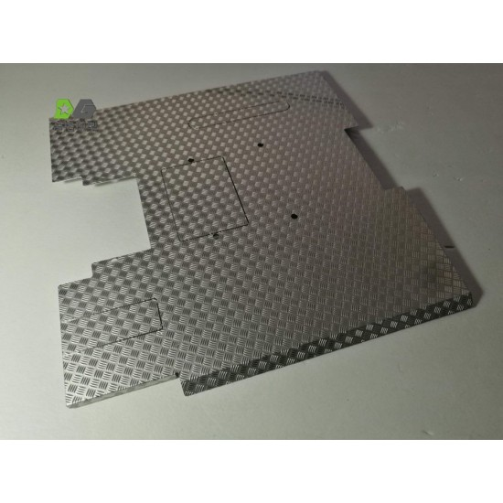 1:14 scale SCANIA 4 x 2 metal chequer plate chassis cover