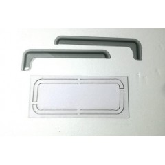 1:14 SCANIA cab window wind deflectors (pair) tinted