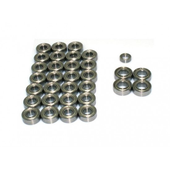 Lesu 1:14 6x4 full metal bearing kit for Tamiya trucks