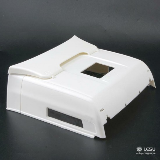 NEW FROM LESU! 1:14 MAN XXL (high) TGX roof with LEDs. Fits Tamiya cabs