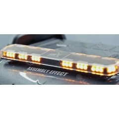 1:14 scale universal hazard roof light bar with yellow & multicolour LEDs!