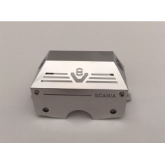 1:14 scale stainless steel SCANIA V8 standard Tamiya gear box cover