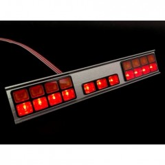 1:14 SCANIA upgrade cab rear light cluster