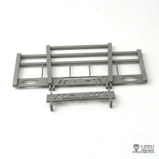 New from Lesu! 1:14 SCANIA Full metal  hinged Front bull bar