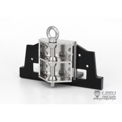 NEW FROM Lesu! 1:14 metal MAN truck front tow hitch