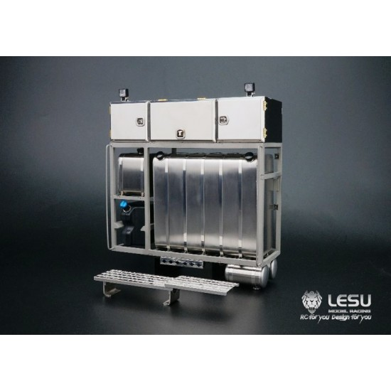 LESU 1:14 full metal Heavy Hauler Power Pack / Tank Unit. Universal