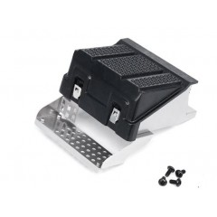 Lesu 1:14 Metal SCANIA truck side step and battery case for R620 / R470