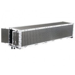 HH 1:14 scale full metal factory assembled CNC Aluminium 40 Foot Container