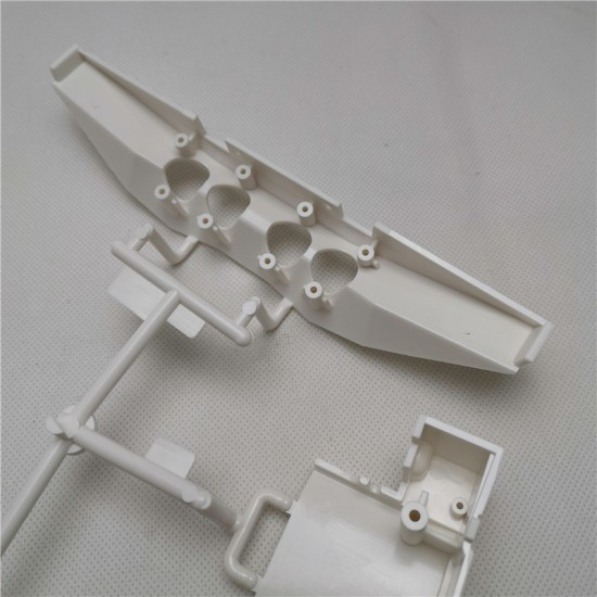 HH 1:14 SCANIA show truck style rear end with chrome exhaust tip Fits Tamiya