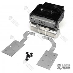 Lesu 1:14 scale full metal rear cross member, battery box, air tanks & light mount set for VOLVO FH16