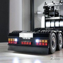 NEW from Lesu 1:14 SCANIA upgrade rear end bumper & light kit