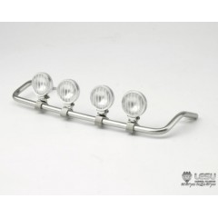 New from Lesu! 1:14 Metal Roof 4 x Light Bar for MAN TGX trucks (Round light)