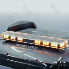 Lesu 1:14 Universal hazard roof light bar with yellow LEDs!
