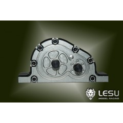 Lesu 1:14 BLACK Metal CNC 1 to 2 way transmission box
