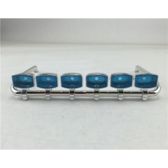 HH 1:14 Plastic Roof 6 Light Bar For MAN / TGX (Square Light)