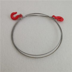 JG RC 1:10 metal tow cable