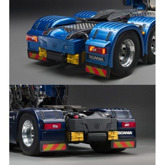 Lesu 1:14 SCANIA facelift (R730) complete rear end. New version
