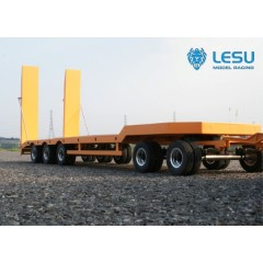 Lesu 1:14 Full metal 3 axle low loader with 2 axle dolly