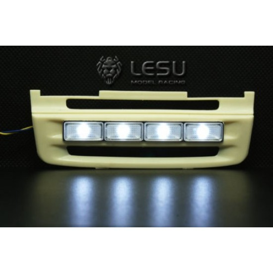 Lesu 1:14 scania upgrade grill including LED lights