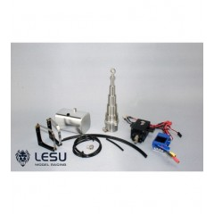 Lesu 1:14 complete hydraulic system including 208mm telescopic RAM