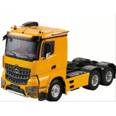 HH 1:14 scale 6x4 Merc AROCS low roof truck kit (new model) Unpainted white (not yellow as shown in pic)