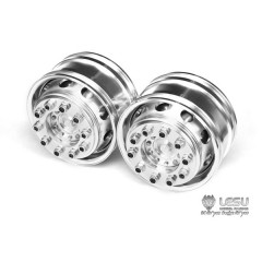 Lesu 1:14 universal metal new style super single truck front wheels round hole