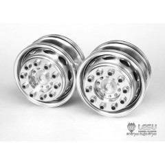 Lesu 1:14 universal metal new style super single truck front wheels oval hole