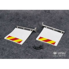 Lesu 1:14 metal & rubber upgrade mud flaps for American/Australian trucks