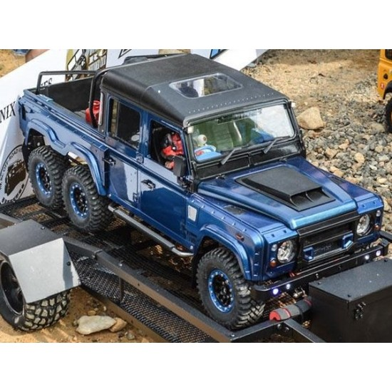 JG RC 1:10 6x6 Land Rover Defender Pickup D130 Hard Body Kit