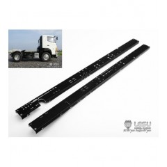Lesu 1:14 pair of metal upgrade 4x2 chassis rails.  370mm