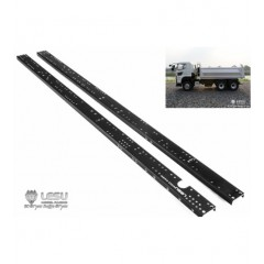 Lesu 1:14 Pair of metal upgrade 6x6 chassis rails.  515mm