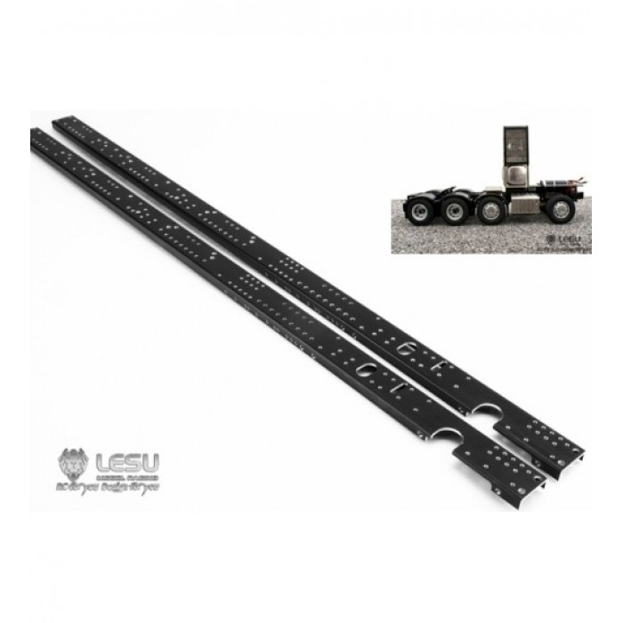 Lesu 1:14 Heavy hauler metal upgrade 8x8 or 8x4 chassis rails. 525mm ...