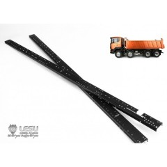 Lesu 1:14 Tipper truck metal upgrade 8x4 or 8x8 chassis rails. 580mm