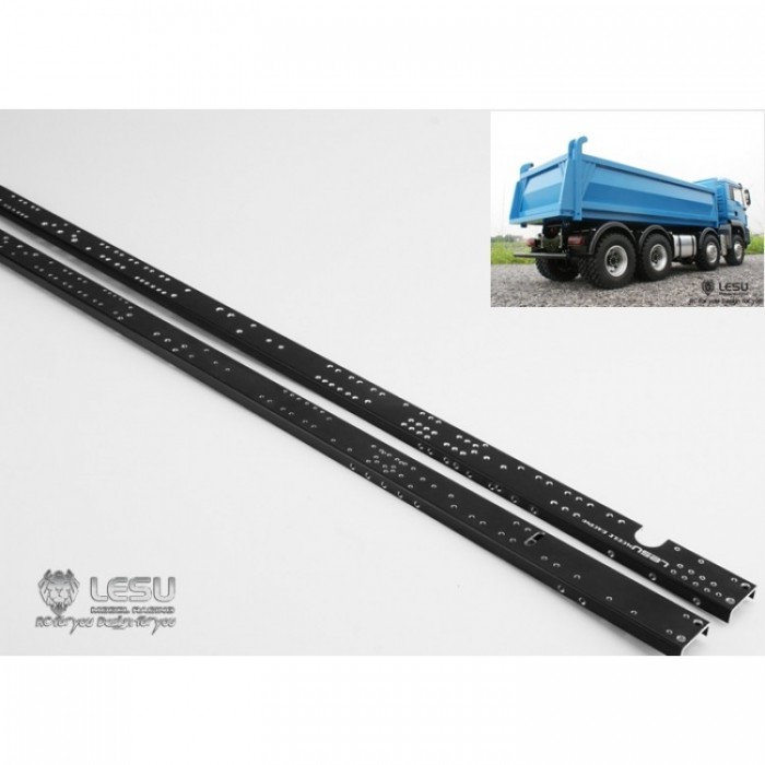 Lesu 1:14 Tipper truck LONG metal upgrade 8x4 or 8x8 chassis rails ...