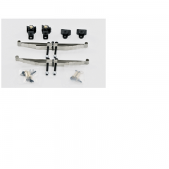 Lesu 1:14 full metal Front driven axle upgrade suspension set
